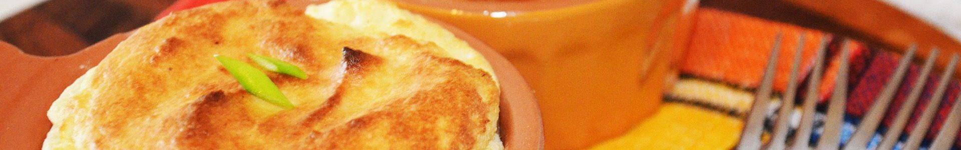 🧀 Сырное суфле