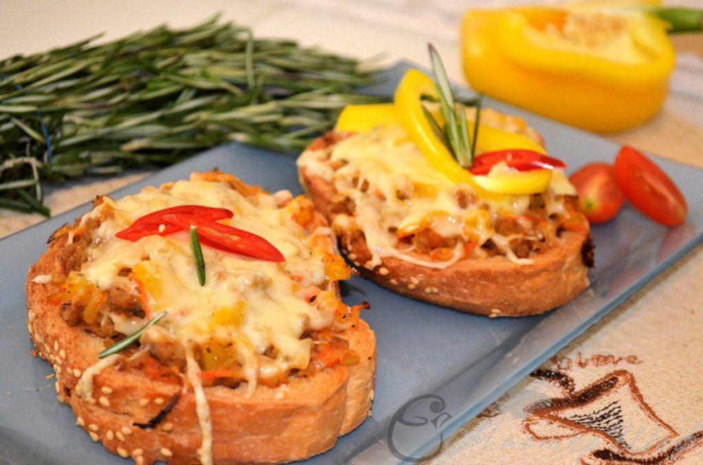 Пряные тосты - рецепт