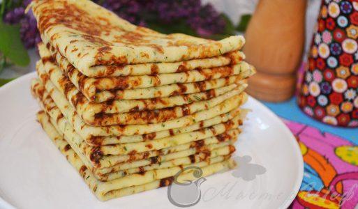 Сырные блинчики — быстро готовятся, быстро съедаются