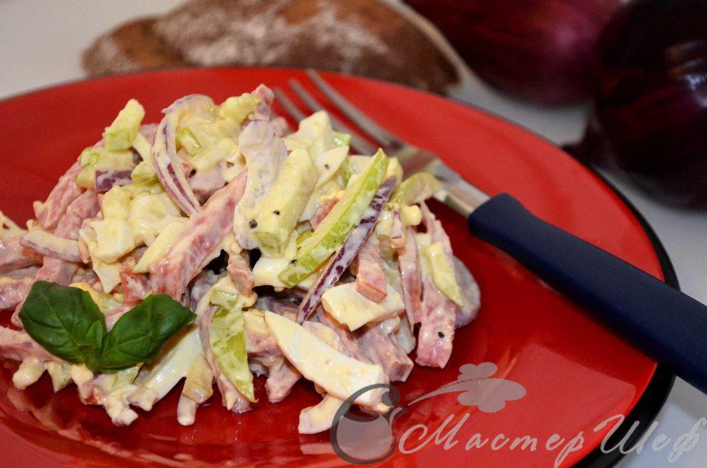 Быстрый салат рецепт
