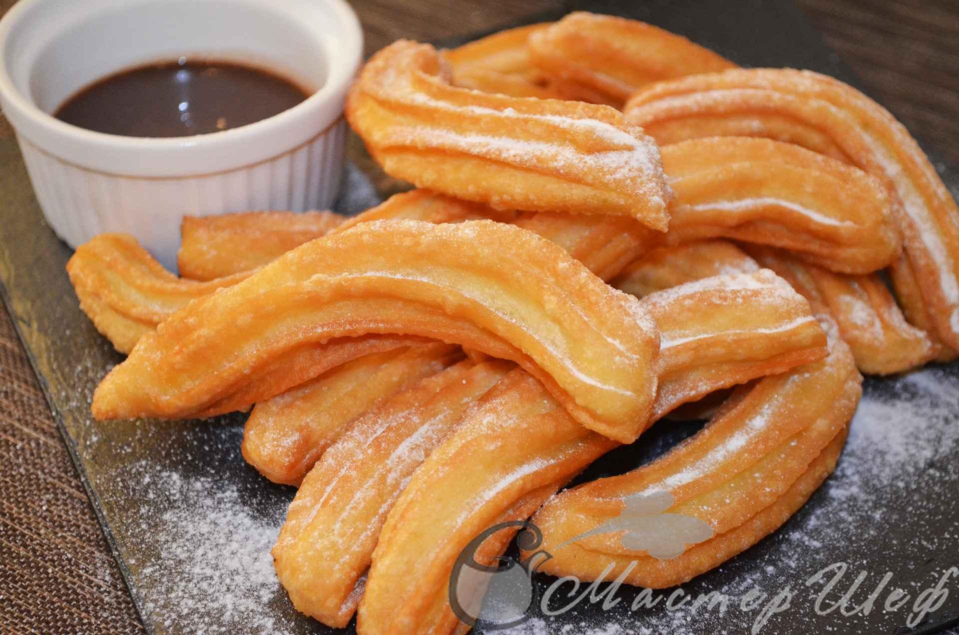 испанские пончики чуррос рецепт с фото