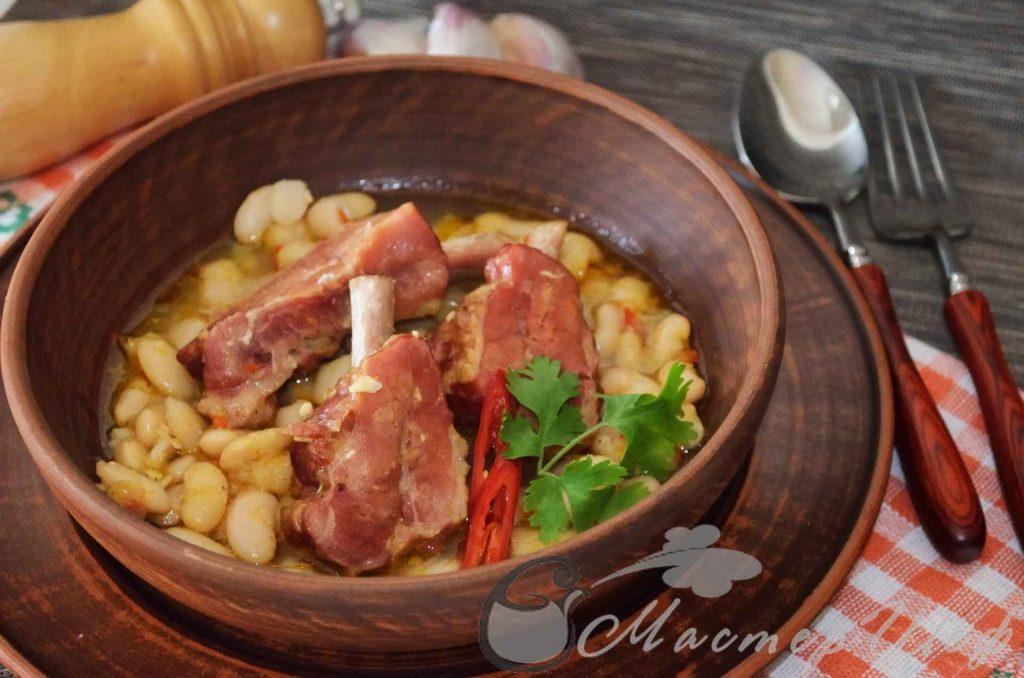Албанское рагу с фасолью - рецепт