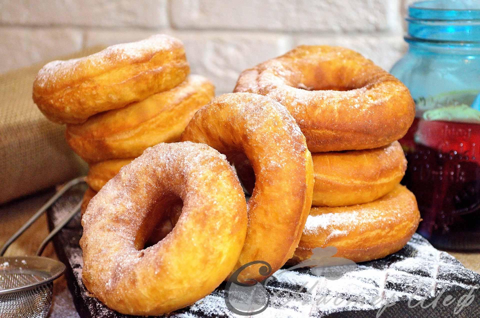 Как приготовить пончики рецепт пошагово