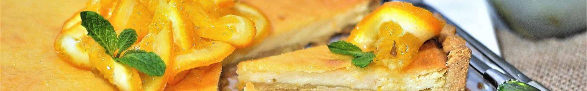 Имбирно-апельсиновый тарт