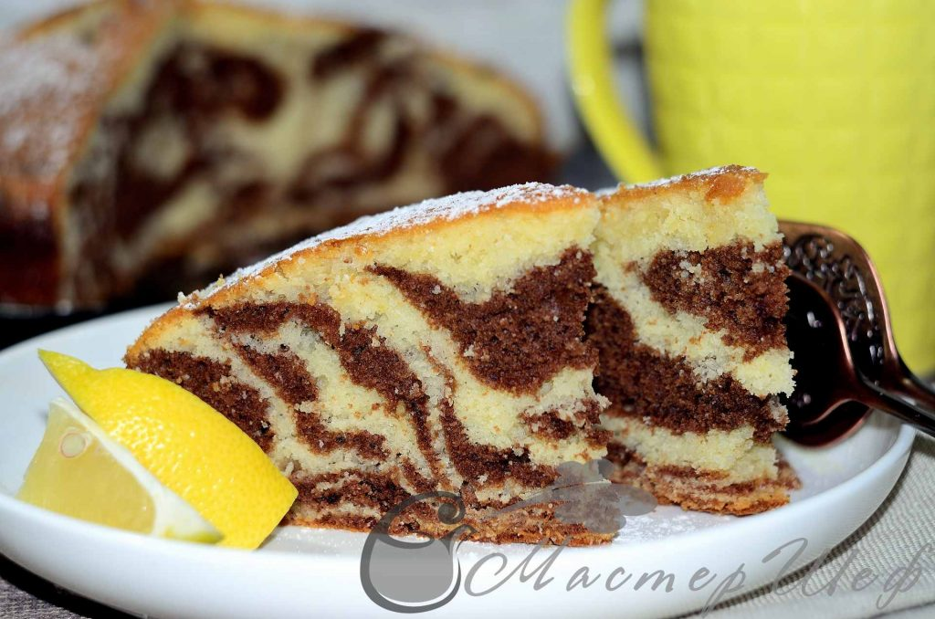 Рецепты пирога зебра пошаговое фото