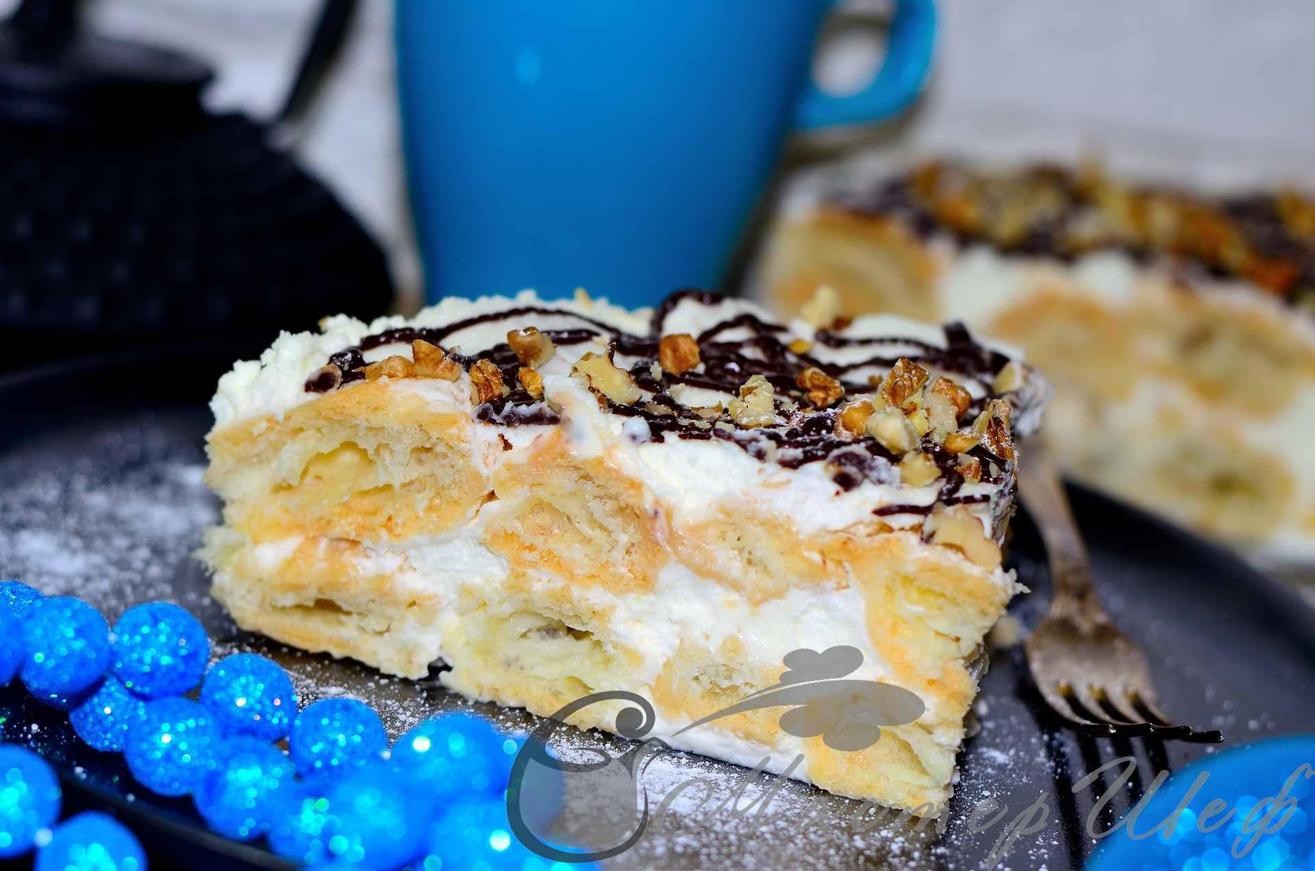Торт Трухлявый пень Всем За Стол Вкусные