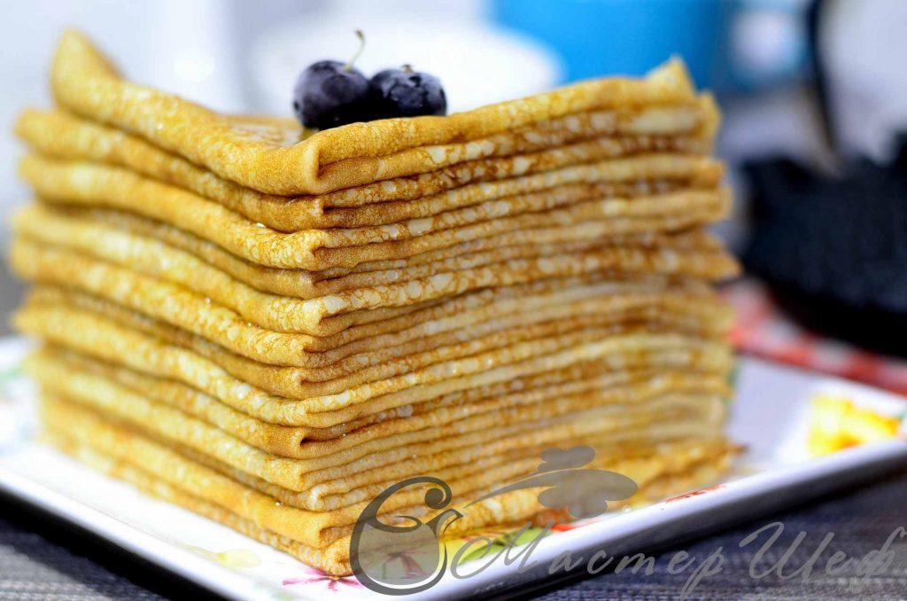 Кукурузные блинчики рецепт