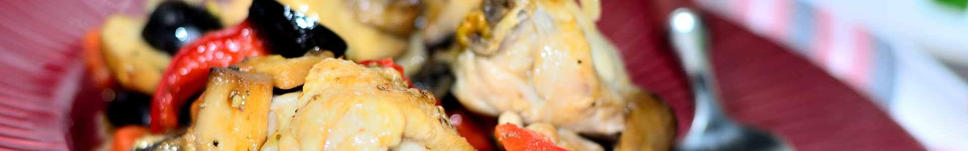 Курица по-провансальски