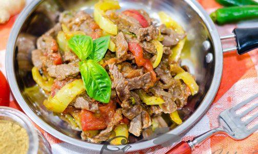 Мясное балти или острая говядина по-индийски