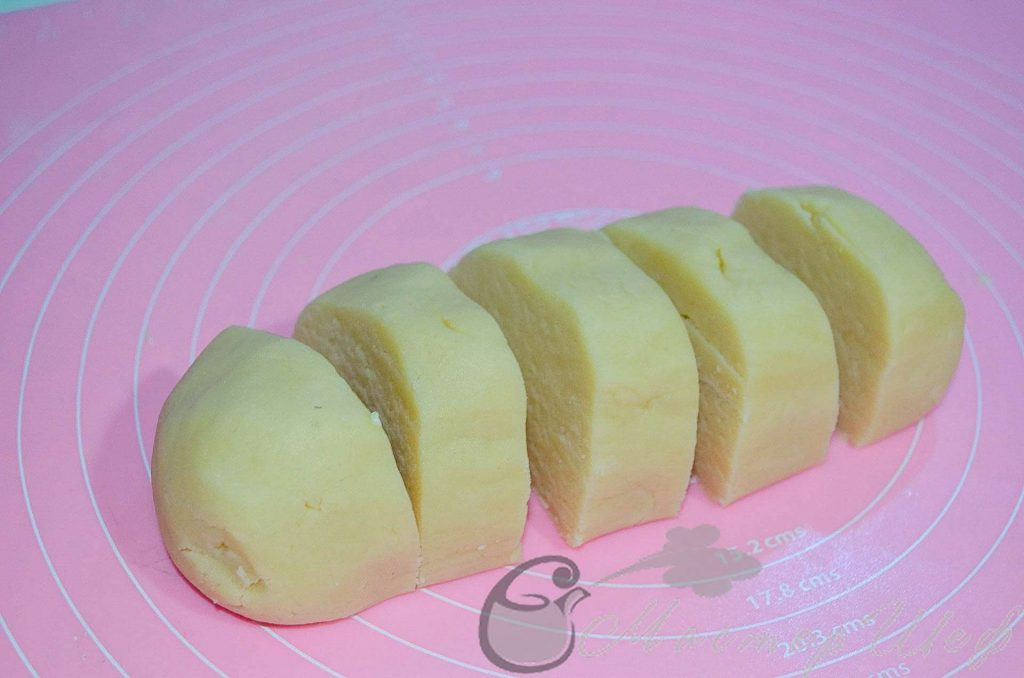 Готовим основу лимонного чизкейка