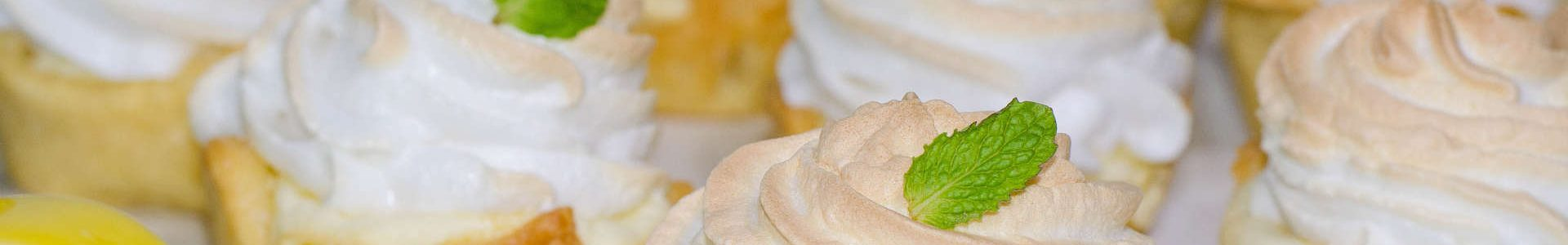 Лимонные пирожные