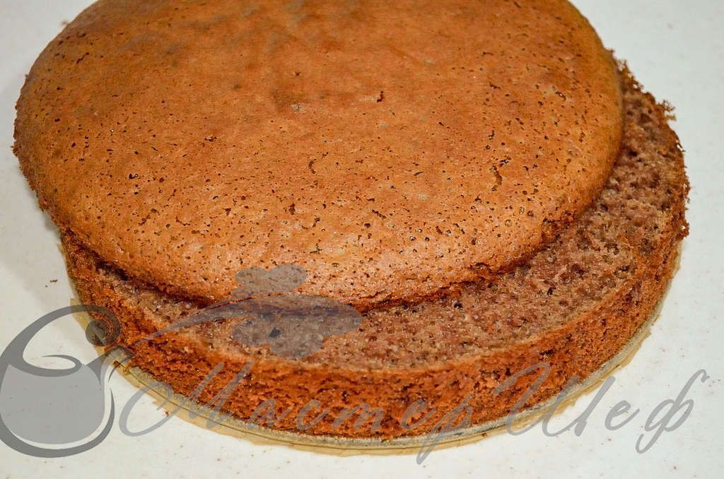 Йогуртный торт с ягодой - ШАГ 10
