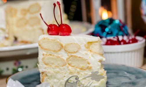 Сливочно – апельсиновый торт