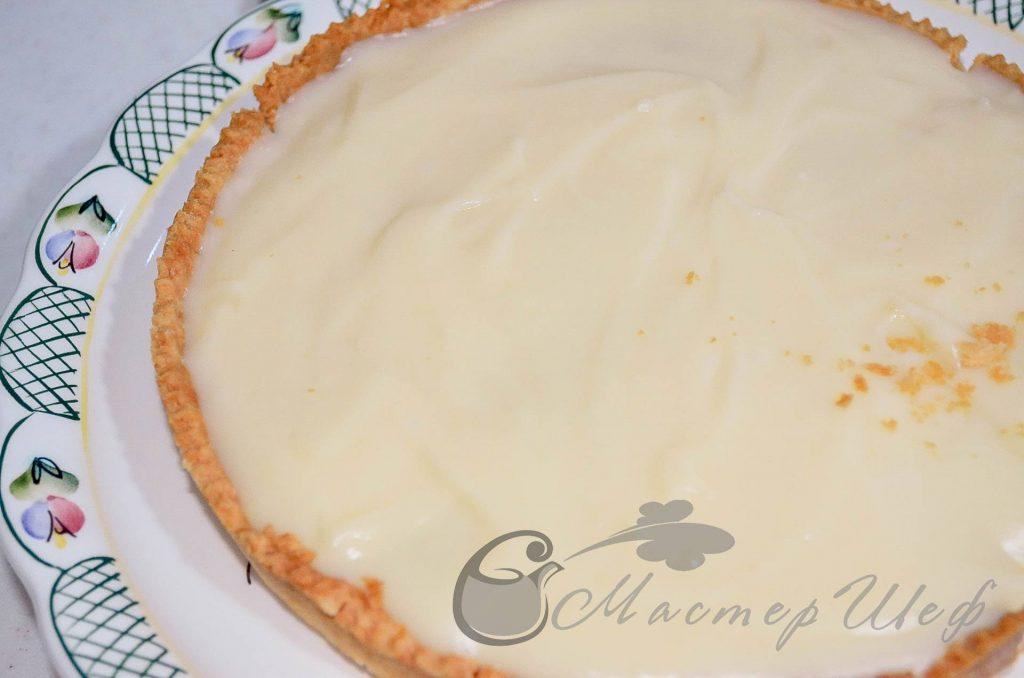 ШАГ 11 -Сливочно-банановый пирог - рецепт