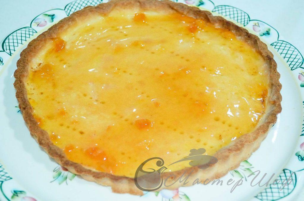 ШАГ 5 - Сливочно-фруктовый песочный пирог