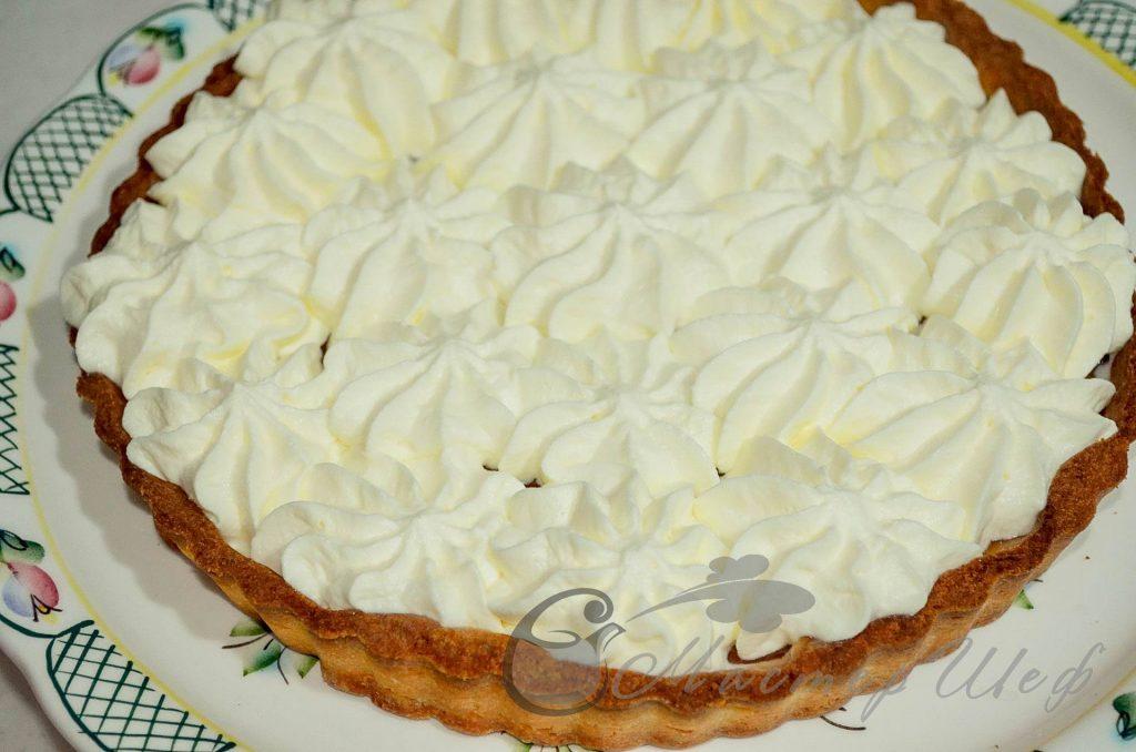 ШАГ 6 - Сливочно-фруктовый песочный пирог