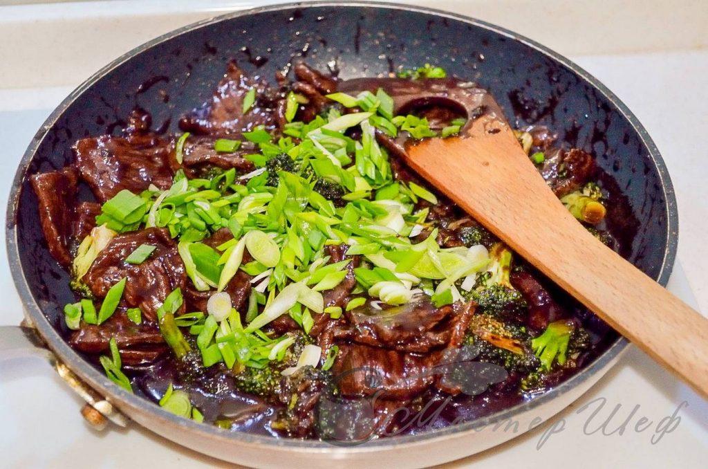 ШАГ 6 - Говядина с брокколи по-китайски