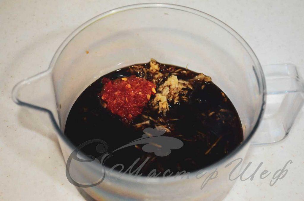 ШАГ 1а - Говядина с рисовой лапшой