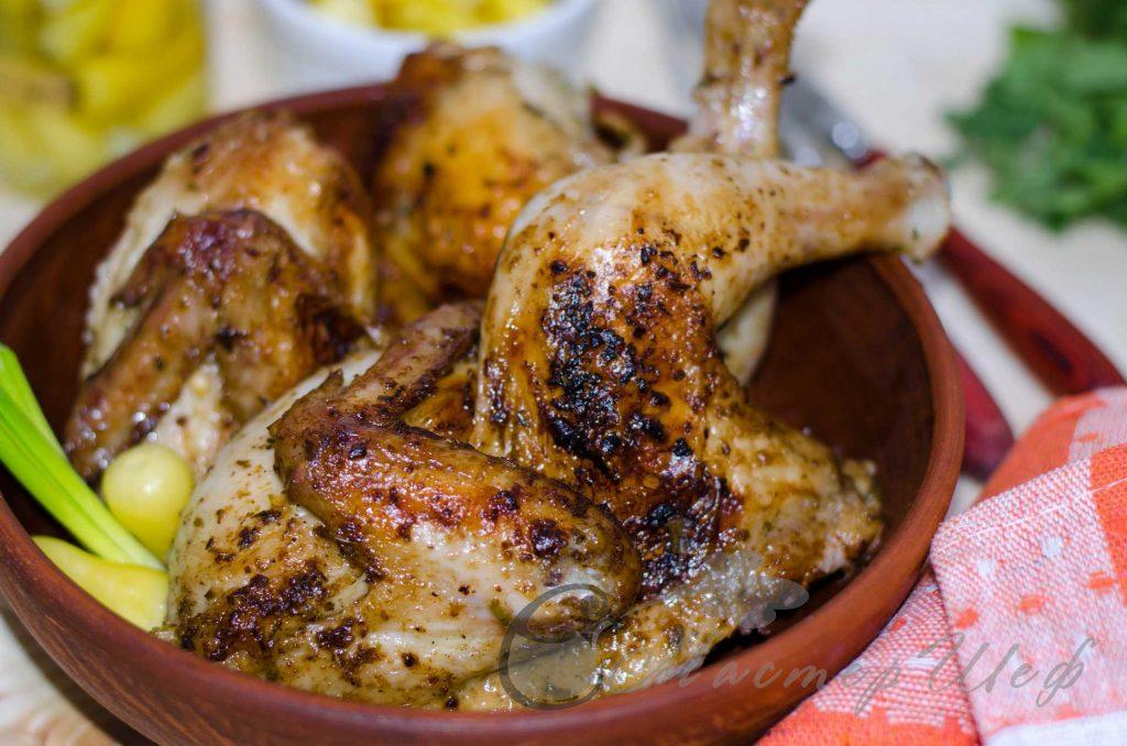 Цыпленок по-ямайски - рецепт