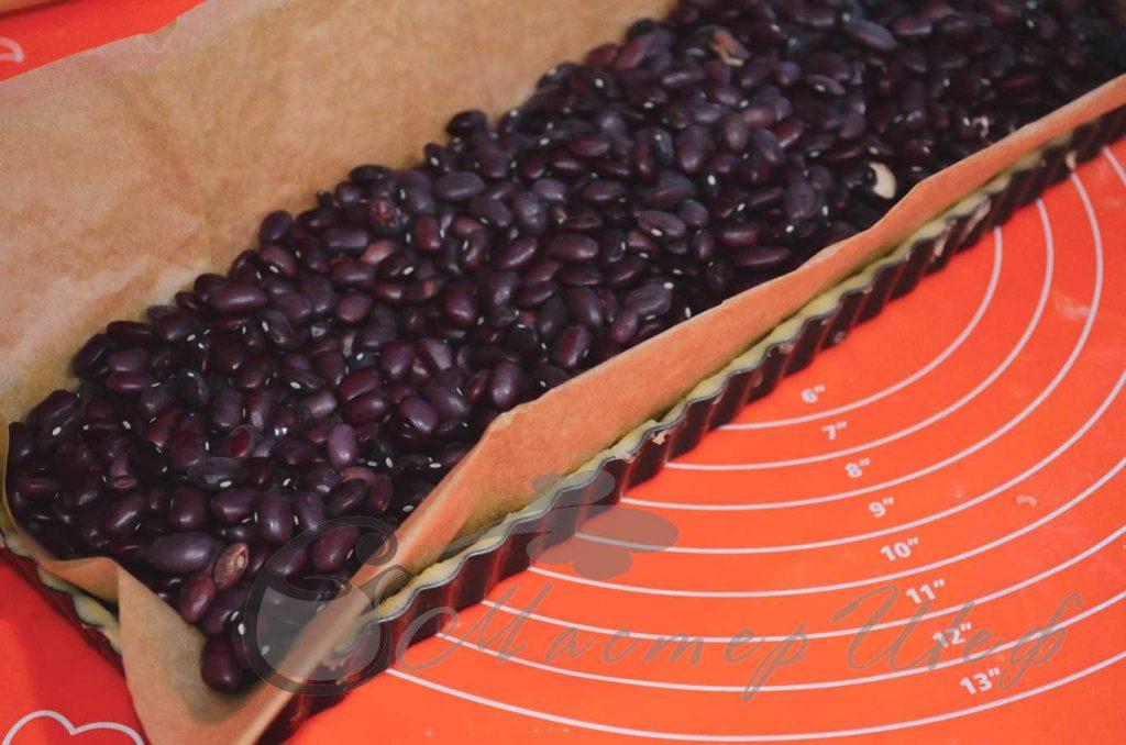 ШАГ 4 - Творожно-черничный пирог