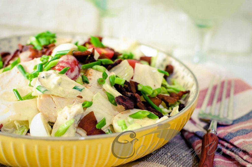 Невероятный салат Коб - рецепт