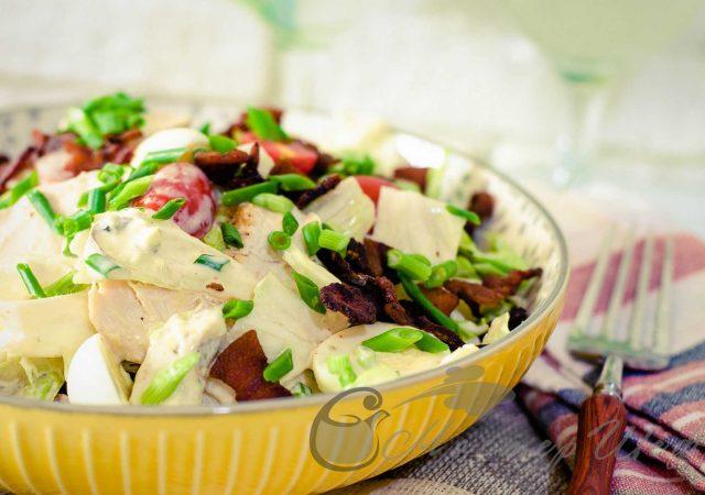 Невероятный салат Коб