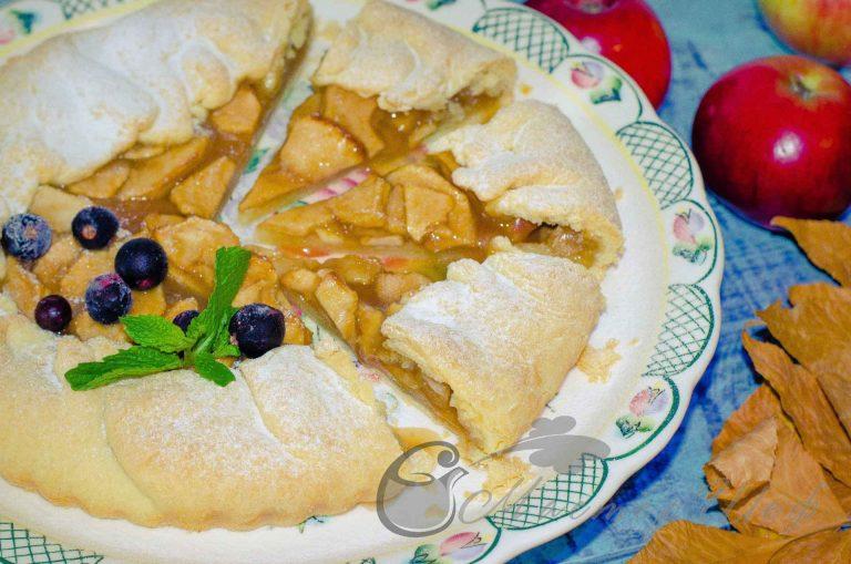 Осенний пирог с яблоками - рецепт