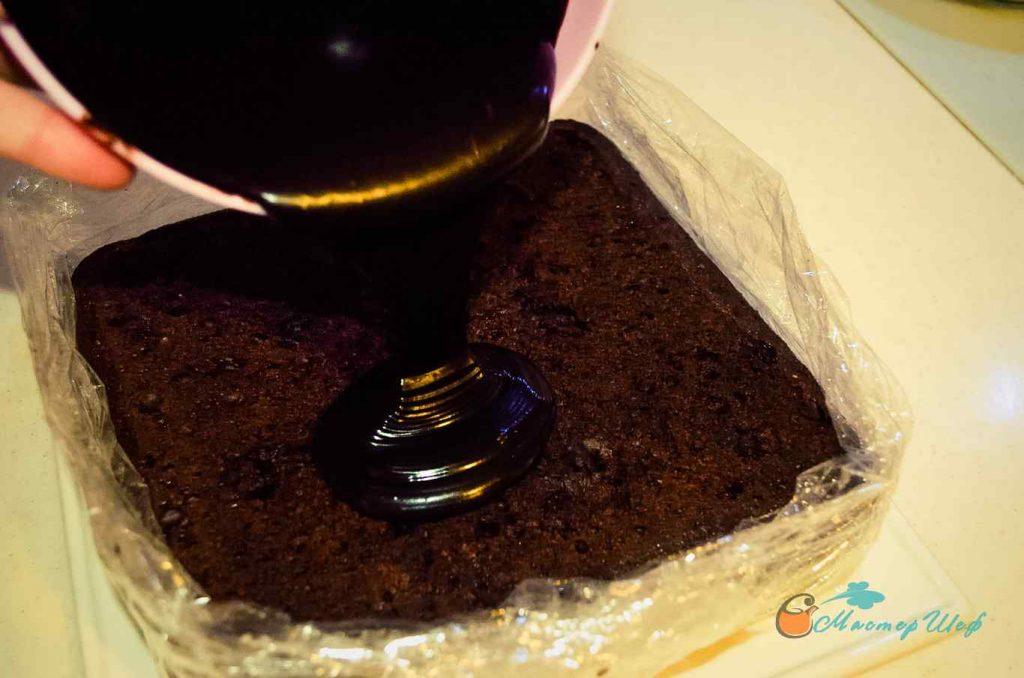 ШАГ 8а - Шоколаднейший пирог