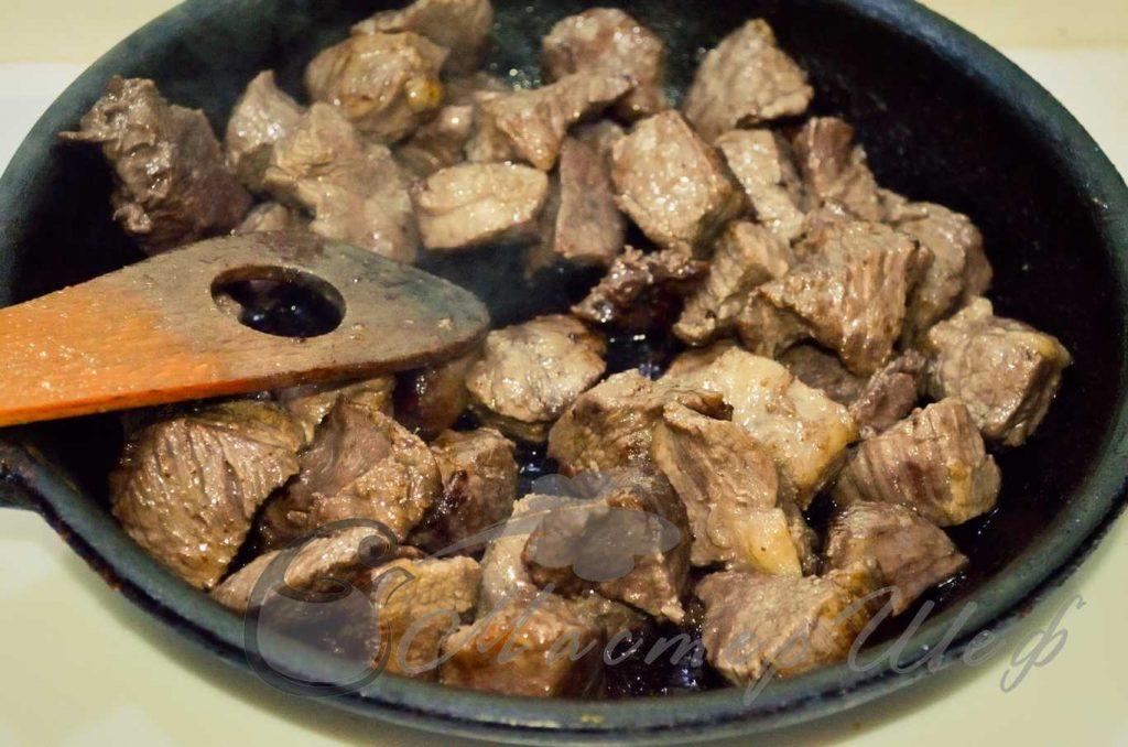 ШАГ 2 - Мясо по-бургундски