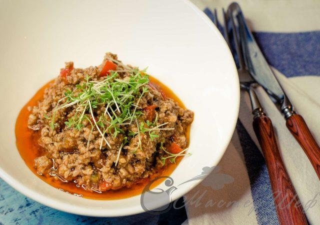 Мясной соус для спагетти (лазаньи, пиццы) 😍