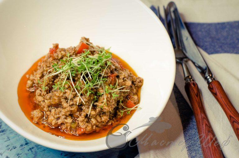 Мясной соус для спагетти/лазаньи или бутербродов или пиццы
