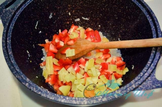 ШАГ 2а - Мясной соус для спагетти/лазаньи