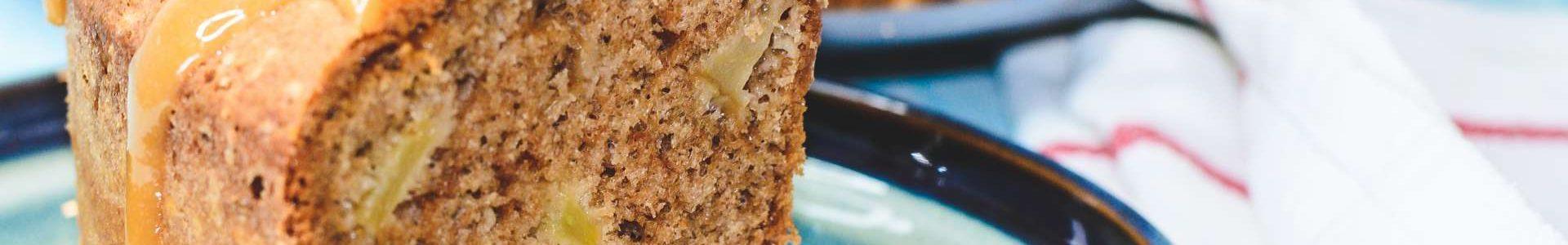 🥮 Карамельный яблочный пирог