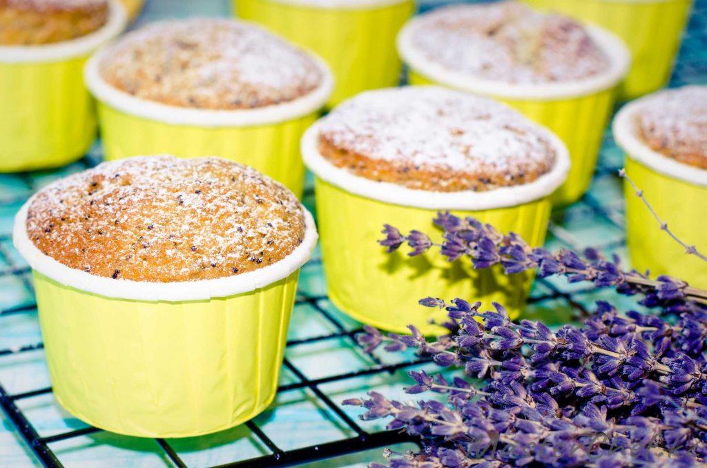 Апельсиновые кексы с маком - рецепт с фото