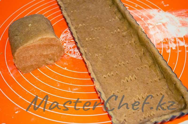 ШАГ 4 - Пирог с шоколадом и американским зефиром