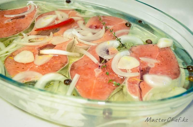Красная рыба – конфи - ШАГ 3