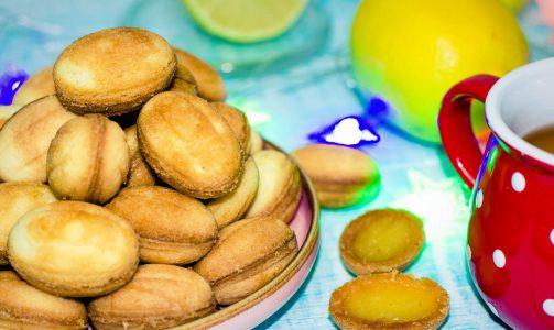 Десерт «Орешки с лимонной начинкой»
