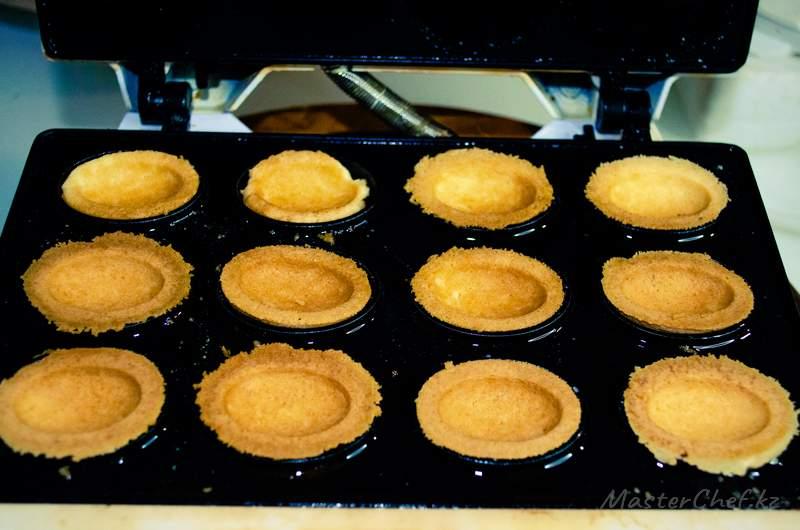 ШАГ 4б - Печенье лимонные орешки