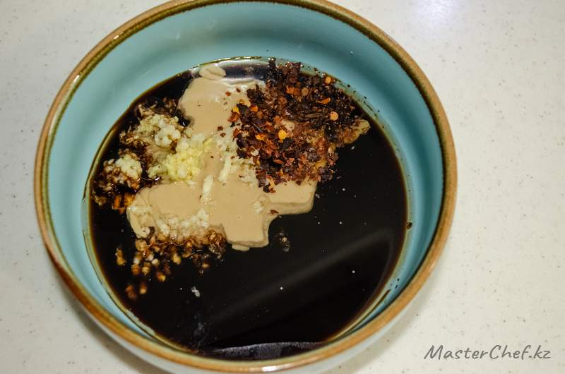 ШАГ 1 - Закуска из грибов шиитаке