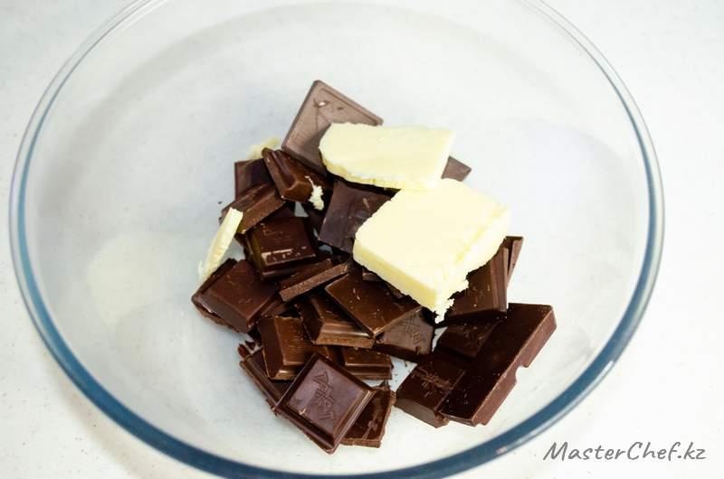 ШАГ 1 - Щоколадный мусс
