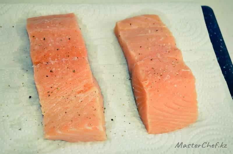 ШАГ 3 - Рыба запеченная с овощами
